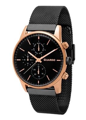 عکس نمای روبرو ساعت مچی برند گوآردو مدل 12009(1)-3