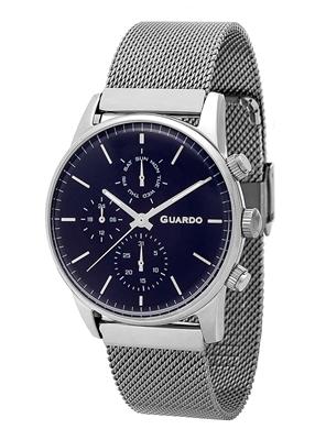 عکس نمای روبرو ساعت مچی برند گوآردو مدل 12009(1)-5