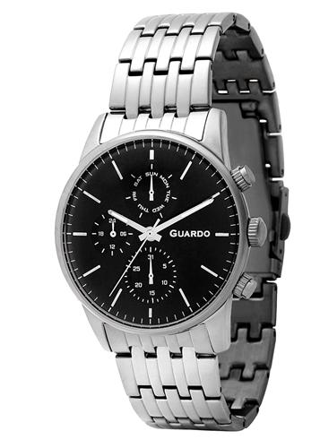 عکس نمای روبرو ساعت مچی برند گوآردو مدل 12009(2)-1