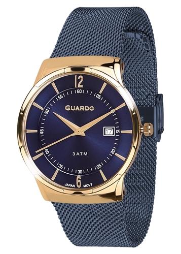عکس نمای روبرو ساعت مچی برند گوآردو مدل 12016-6