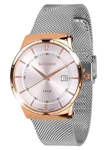 عکس نمای روبرو ساعت مچی برند گوآردو مدل 12016-7
