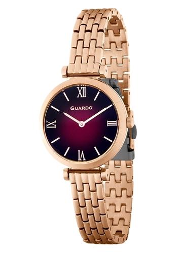 عکس نمای روبرو ساعت مچی برند گوآردو مدل 12333(1)-4