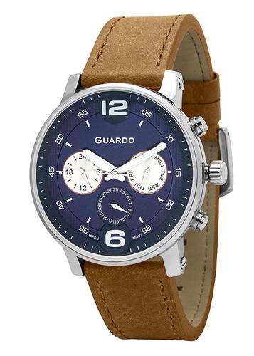 عکس نمای روبرو ساعت مچی برند گوآردو مدل 12432(1)-2