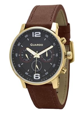 عکس نمای روبرو ساعت مچی برند گوآردو مدل 12432(1)-4