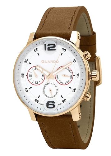 عکس نمای روبرو ساعت مچی برند گوآردو مدل 12432(1)-5