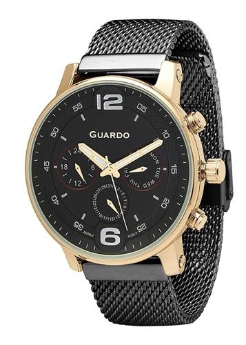 عکس نمای روبرو ساعت مچی برند گوآردو مدل 12432(2)-5