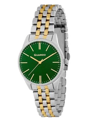 عکس نمای روبرو ساعت مچی برند گوآردو مدل B01095-2