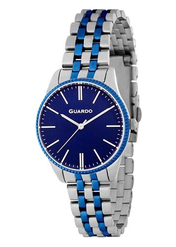 عکس نمای روبرو ساعت مچی برند گوآردو مدل B01095-3