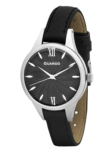 عکس نمای روبرو ساعت مچی برند گوآردو مدل B01099-1