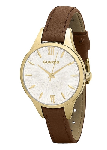 عکس نمای روبرو ساعت مچی برند گوآردو مدل B01099-3