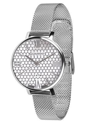 عکس نمای روبرو ساعت مچی برند گوآردو مدل B01107-1