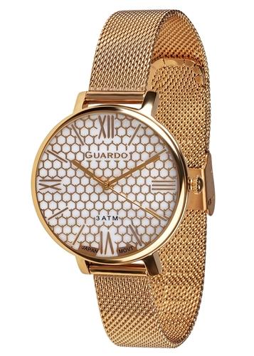 عکس نمای روبرو ساعت مچی برند گوآردو مدل B01107-3