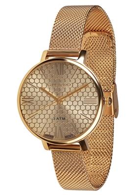 عکس نمای روبرو ساعت مچی برند گوآردو مدل B01107-4