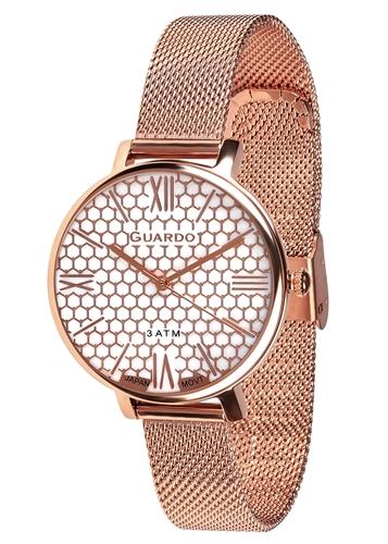 عکس نمای روبرو ساعت مچی برند گوآردو مدل B01107-5