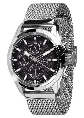 عکس نمای روبرو ساعت مچی برند گوآردو مدل B01113-1