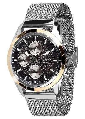 عکس نمای روبرو ساعت مچی برند گوآردو مدل B01113-3