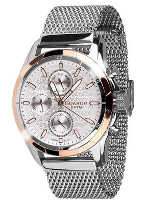 عکس نمای روبرو ساعت مچی برند گوآردو مدل B01113-4
