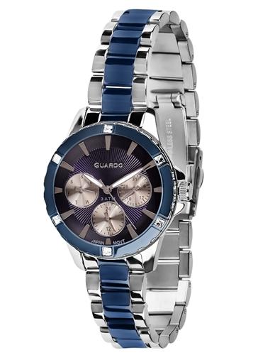 عکس نمای روبرو ساعت مچی برند گوآردو مدل B01118-2