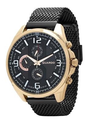 عکس نمای روبرو ساعت مچی برند گوآردو مدل B01361(1)-5
