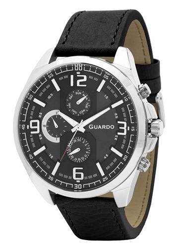 عکس نمای روبرو ساعت مچی برند گوآردو مدل B01361(2)-2