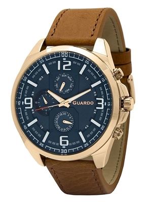 عکس نمای روبرو ساعت مچی برند گوآردو مدل B01361(2)-6