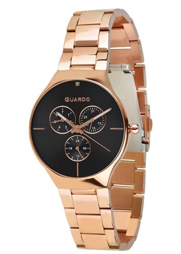 عکس نمای روبرو ساعت مچی برند گوآردو مدل B01398(1)-4