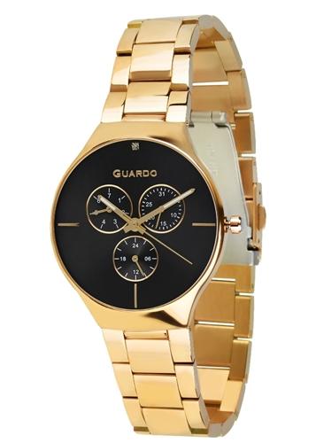 عکس نمای روبرو ساعت مچی برند گوآردو مدل B01398(1)-2
