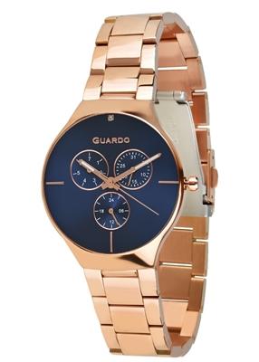 عکس نمای روبرو ساعت مچی برند گوآردو مدل B01398(1)-5