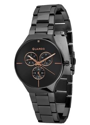 عکس نمای روبرو ساعت مچی برند گوآردو مدل B01398(1)-6