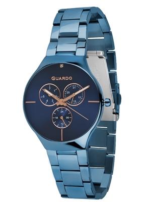 عکس نمای روبرو ساعت مچی برند گوآردو مدل B01398(1)-7