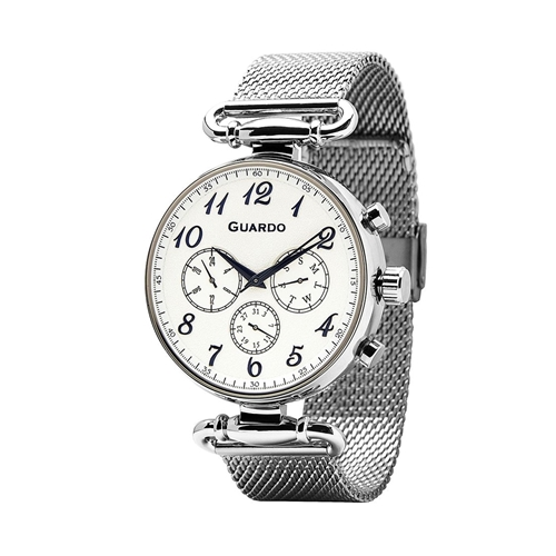 عکس نمای روبرو ساعت مچی برند گوآردو مدل 11221-2