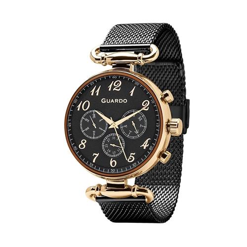 عکس نمای روبرو ساعت مچی برند گوآردو مدل 11221-6