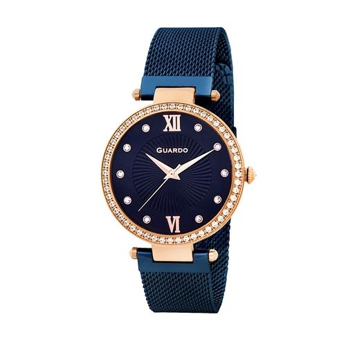 عکس نمای روبرو ساعت مچی برند گوآردو مدل 11390-5