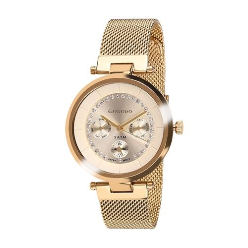 عکس نمای روبرو ساعت مچی برند گوآردو مدل 11405-3