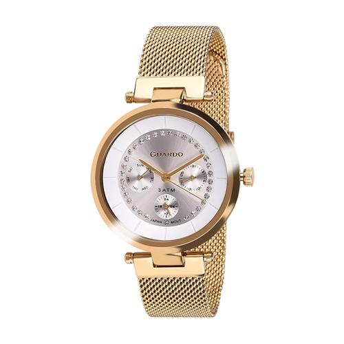 عکس نمای روبرو ساعت مچی برند گوآردو مدل 11405-4
