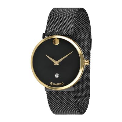 عکس نمای روبرو ساعت مچی برند گوآردو مدل B01402-4