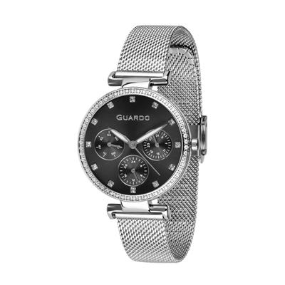 عکس نمای روبرو ساعت مچی برند گوآردو مدل B01652-1