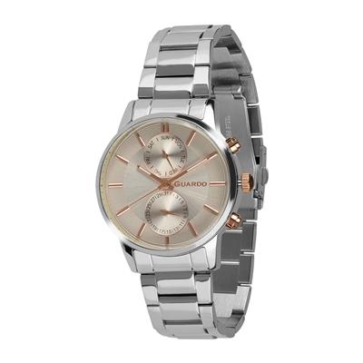 عکس نمای روبرو ساعت مچی برند گوآردو مدل B01068-3