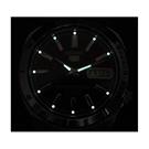 عکس لومیبرایت ساعت مچی برند سیکو مدل SNKD99K1