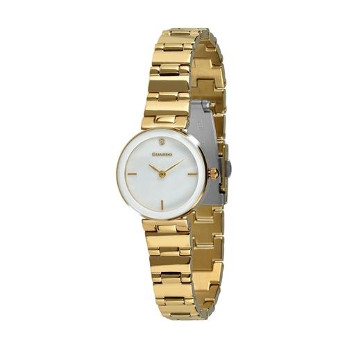 عکس نمای روبرو ساعت مچی برند گوآردو مدل T01070-6