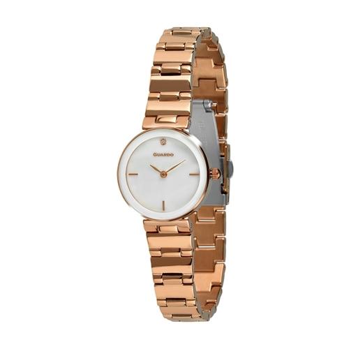 عکس نمای روبرو ساعت مچی برند گوآردو مدل T01070-8