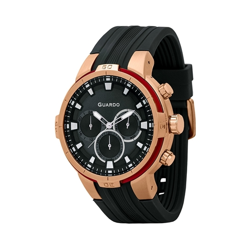 عکس نمای روبرو ساعت مچی برند گوآردو مدل 11149-3