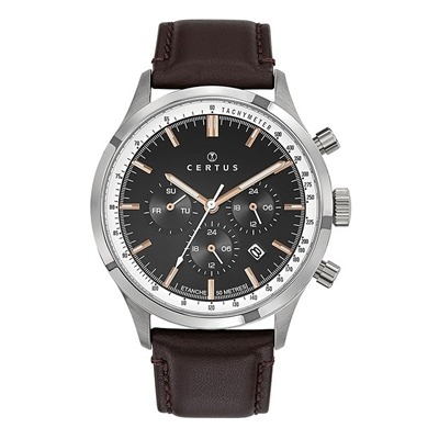 عکس نمای روبرو ساعت مچی برند سرتوس مدل 611142
