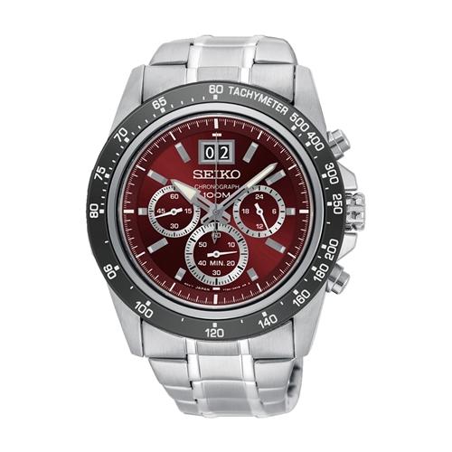 عکس نمای روبرو ساعت مچی برند سیکو مدل SPC243P1