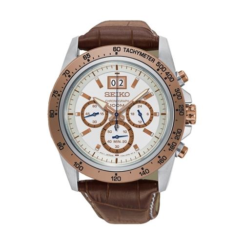 عکس نمای روبرو ساعت مچی برند سیکو مدل SPC246P1