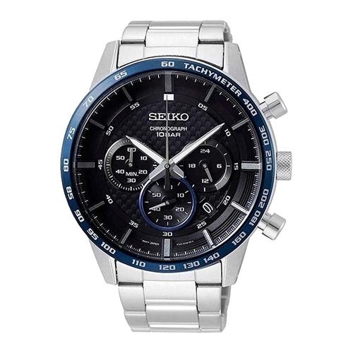عکس نمای روبرو ساعت مچی برند سیکو مدل SSB357P1