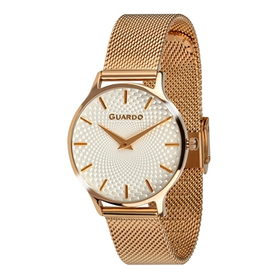 عکس نمای روبرو ساعت مچی برند گوآردو مدل 012516-6