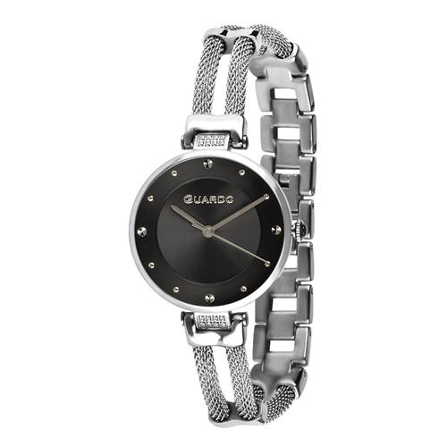 عکس نمای روبرو ساعت مچی برند گوآردو مدل T01061-1