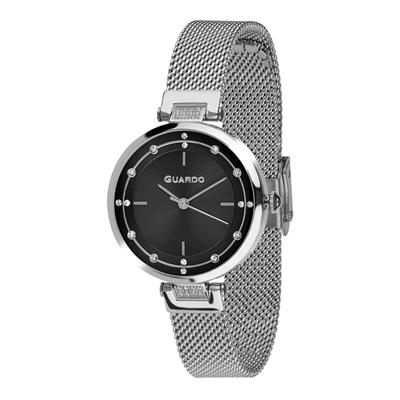 عکس نمای روبرو ساعت مچی برند گوآردو مدل T01061(1)-1