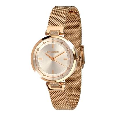 عکس نمای روبرو ساعت مچی برند گوآردو مدل T01061(1)-4
